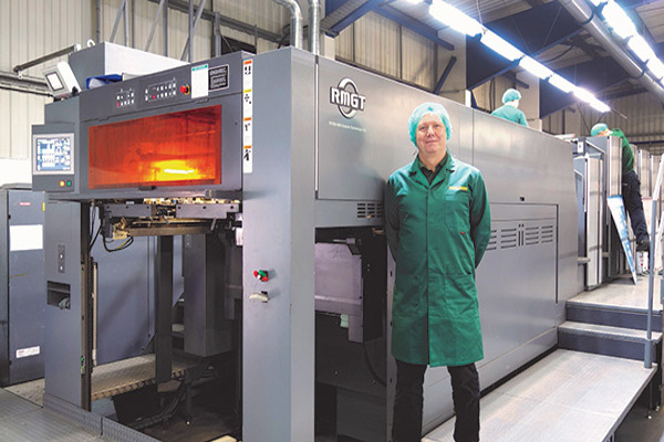 New RMGT Press for Glossop Cartons